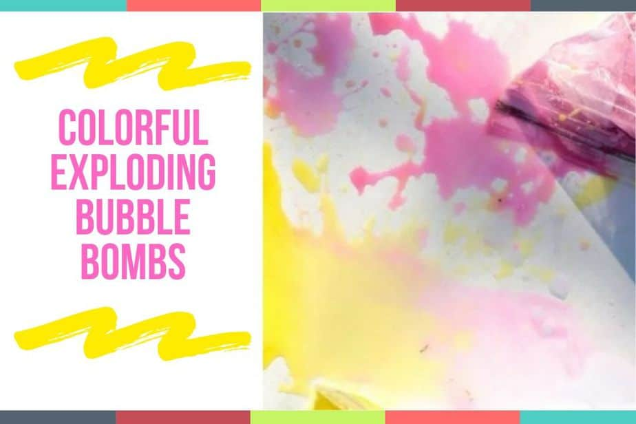 Colorful Exploding Bubble Bombs