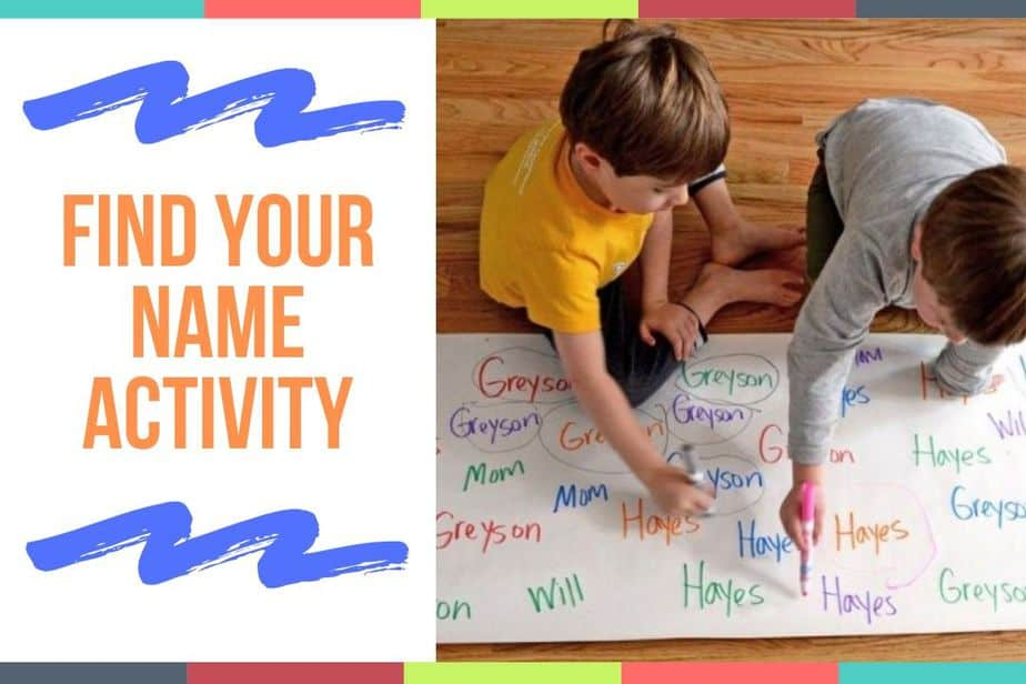 Find Your Name Activity
