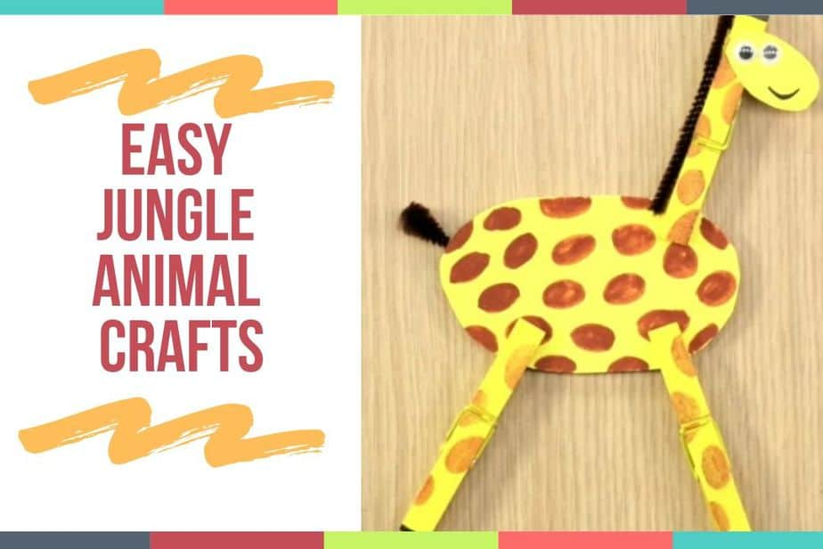 Easy Jungle Animal Crafts