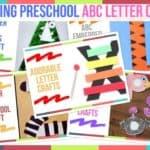 Trending Preschool ABC Letter Crafts