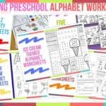 Trending Preschool Alphabet Worksheets