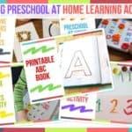 Trending Preschool At Home Learning Activities