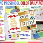 Trending Preschool Color Daily Activities
