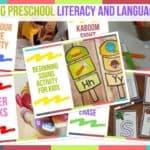 Trending Preschool Literacy And Language Ideas