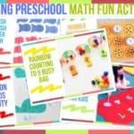 Trending Preschool Math Fun Activities