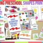 Trending Preschool Shapes Printables