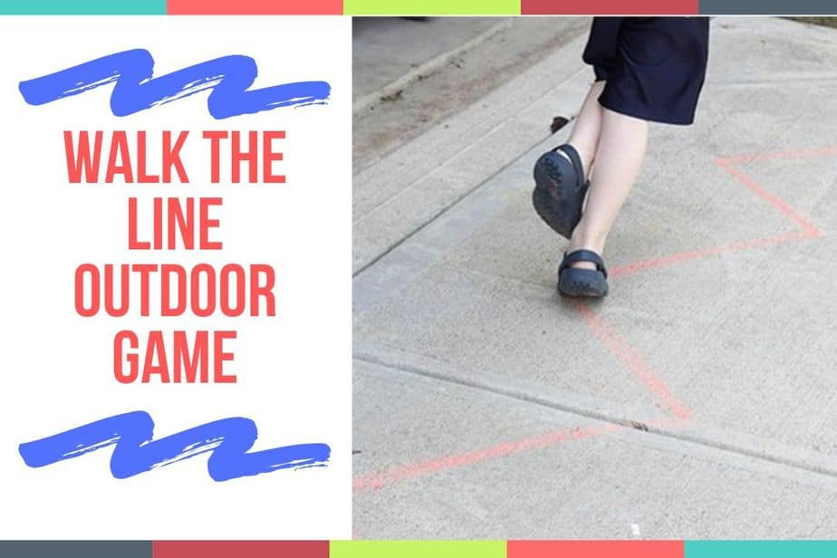 Walk The Line Outdoor Game