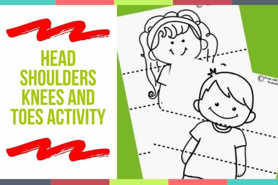 Head Shoulders Knees and Toes Activity