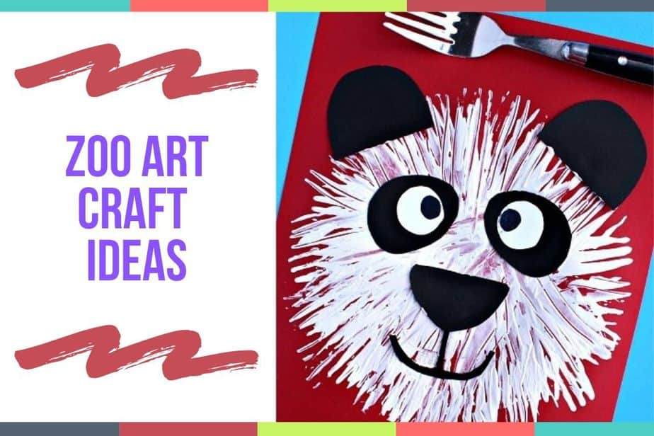 Zoo Art Craft Ideas
