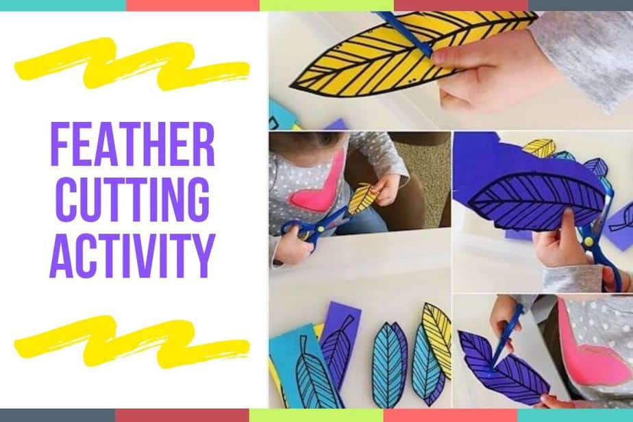 Feather Cutting Activity