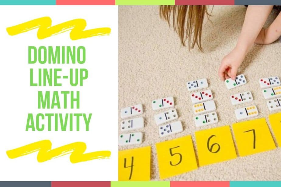 Domino Line-Up Math Activity