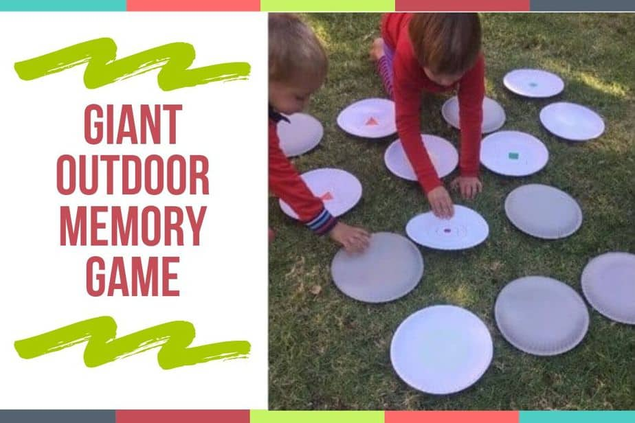 Giant Outdoor Memory Game