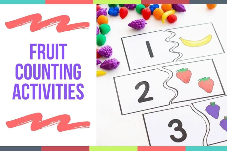 Fruit Counting Activities
