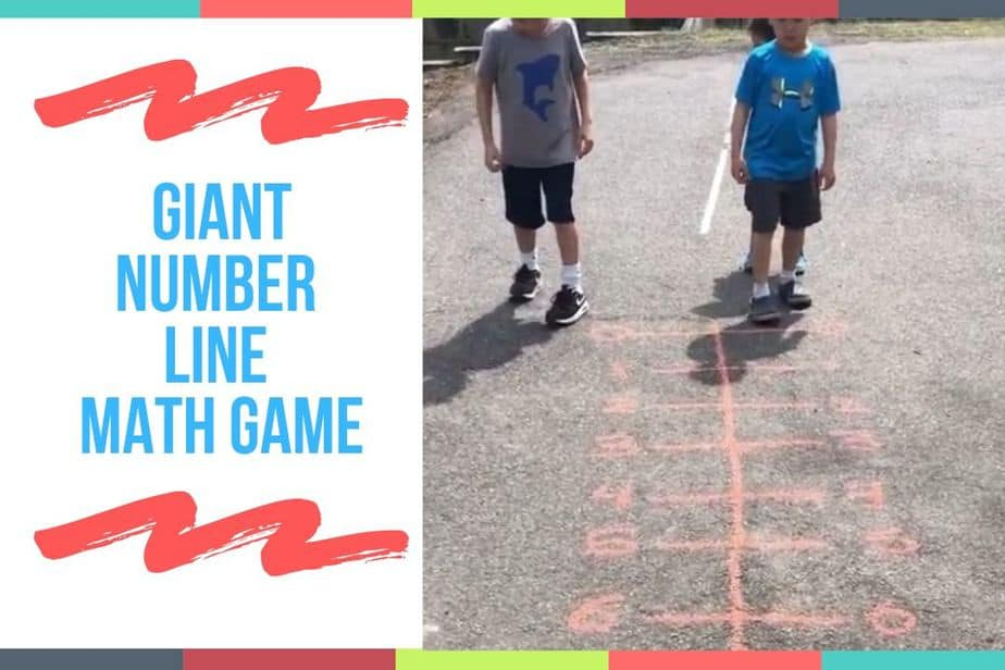 Giant Number Line Math Game