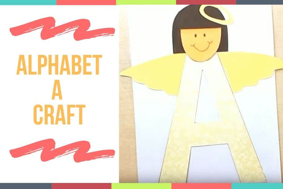 Alphabet A Craft