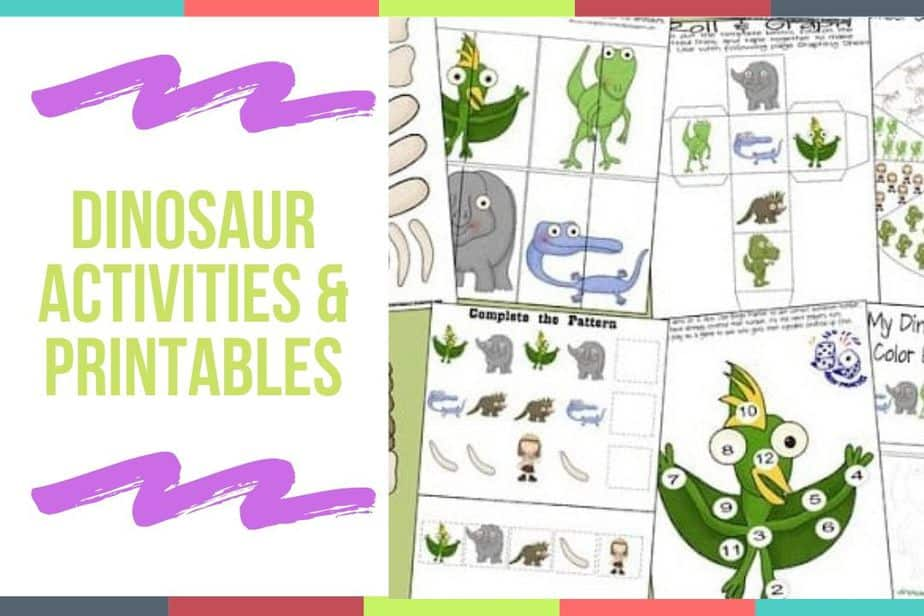 Dinosaur Activities & Printables