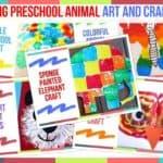 Trending Preschool Animal Art And Craft Ideas