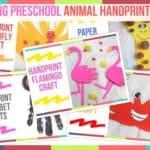 Trending Preschool Animal Handprint Crafts
