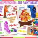 Trending Preschool Art Painting Activities