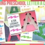 Trending Preschool Letter A Crafts