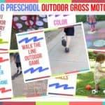 Trending Preschool Outdoor Gross Motor Ideas