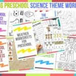Trending Preschool Science Theme Worksheets