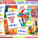 Trending Preschool Shape Art Project Ideas