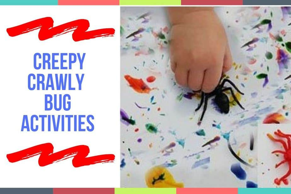Creepy Crawly Bug Activities