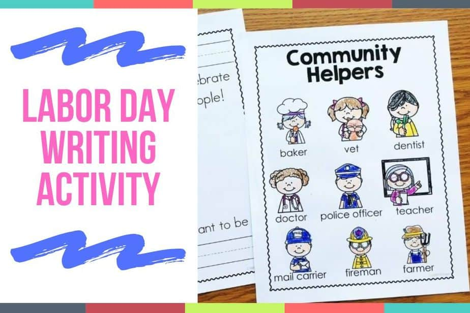Labor Day Writing Activity