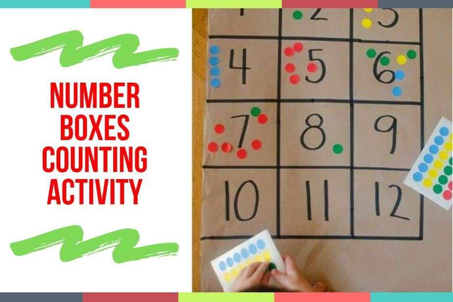 Number Boxes Counting Activity