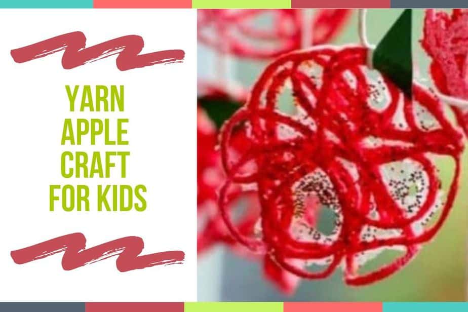 Preschool Apple Crafts Yarn