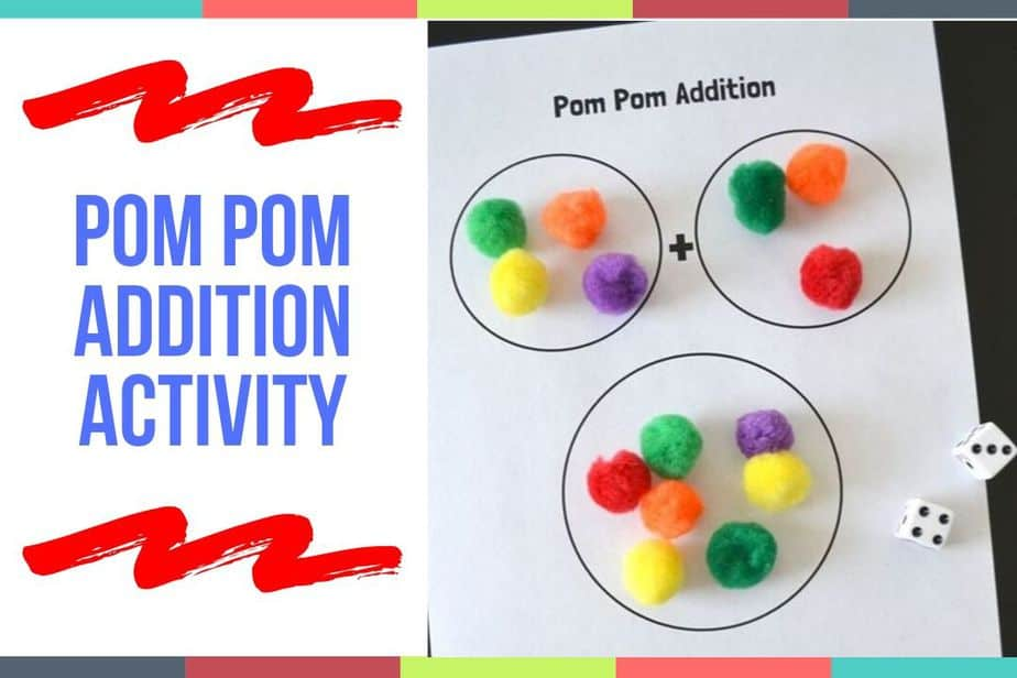Pom Pom Addition Activity