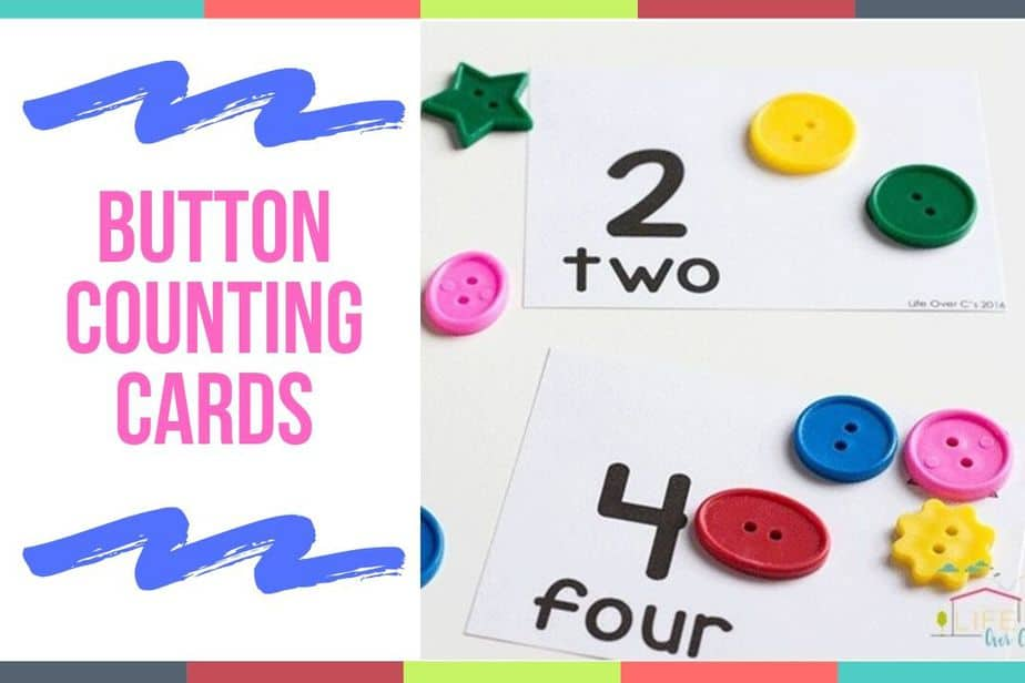 Button Counting Cards