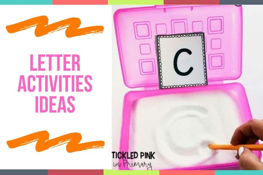 Letter Activities Ideas