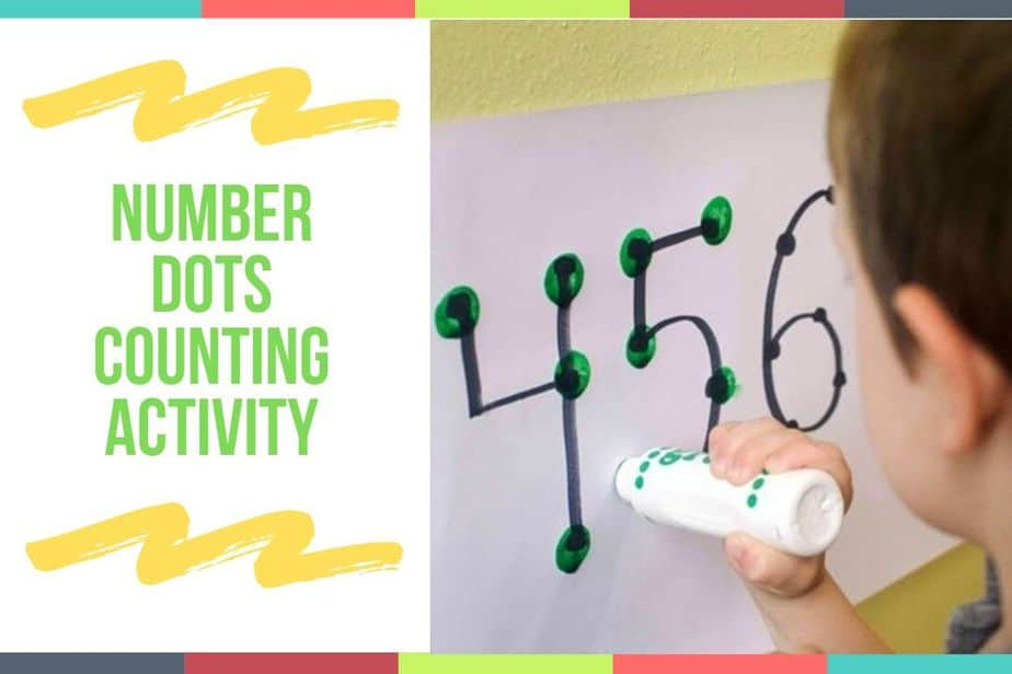 Number Dots Counting Activity