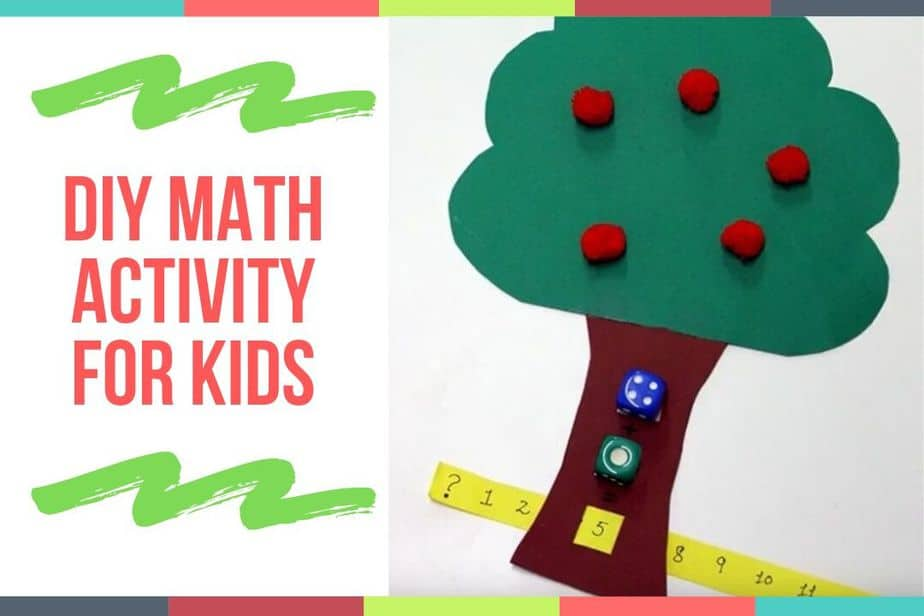 DIY Math Activity For Kids