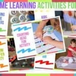 At Home Learning Activities For Kids