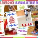Trending Preschool Learning Letters Activities