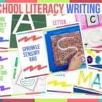 Preschool Literacy Writing Ideas