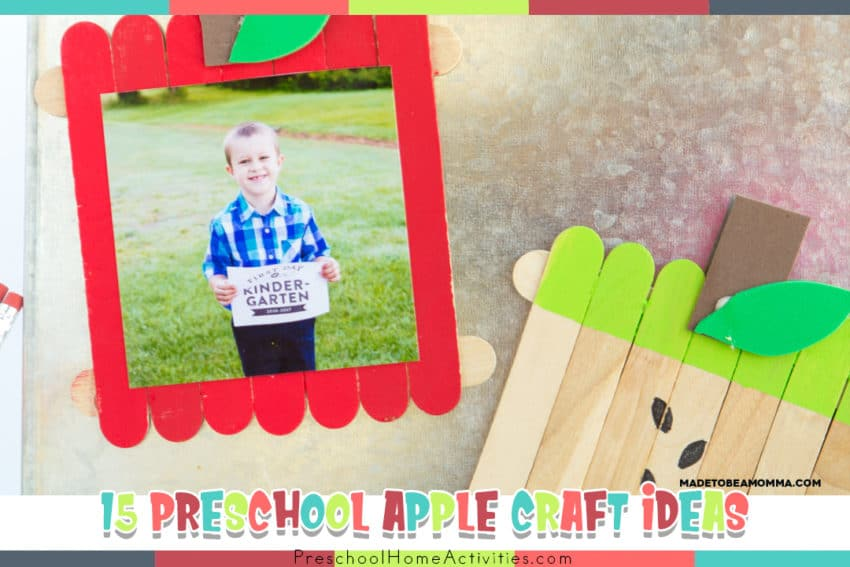 preschool apple craft ideas