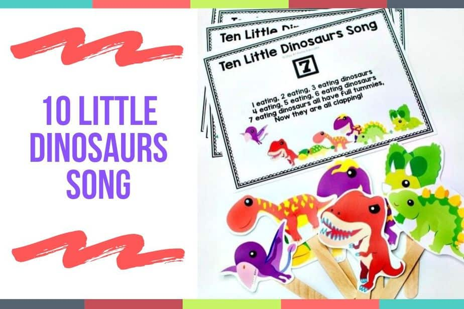10 Little Dinosaurs Song