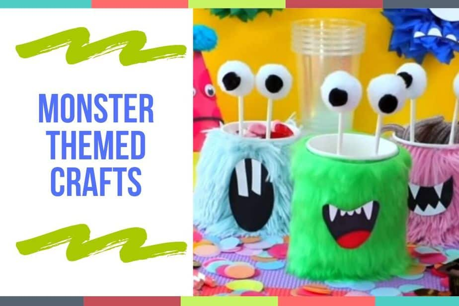 Monster Themed Crafts
