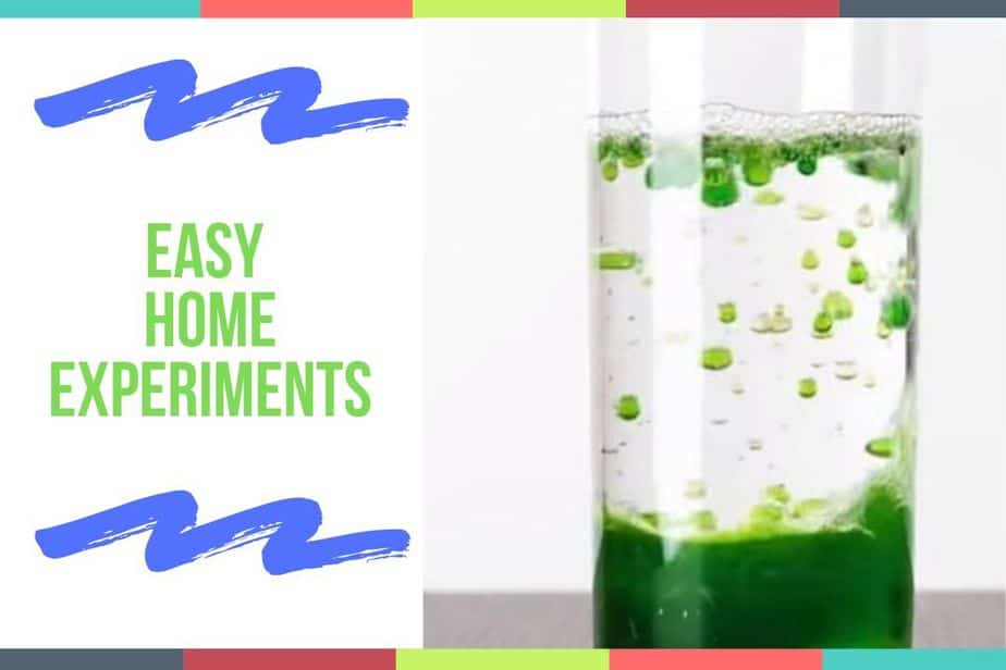 Easy Home Experiments