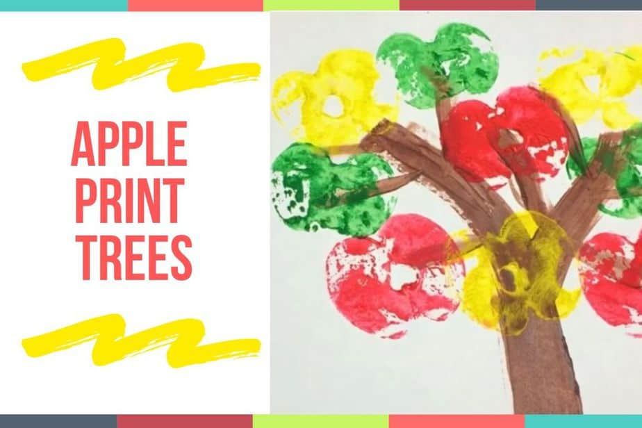 Apple Print Trees
