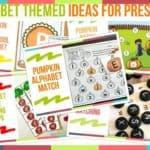 Alphabet Themed Ideas For Preschool