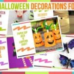 Easy Halloween Decorations For Kids