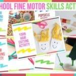 Preschool Fine Motor Skills Activities