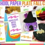 Preschool Paper Plate Fall Crafts