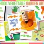 Preschool Vegetable Garden Art Ideas