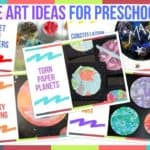 Space Art Ideas For Preschoolers